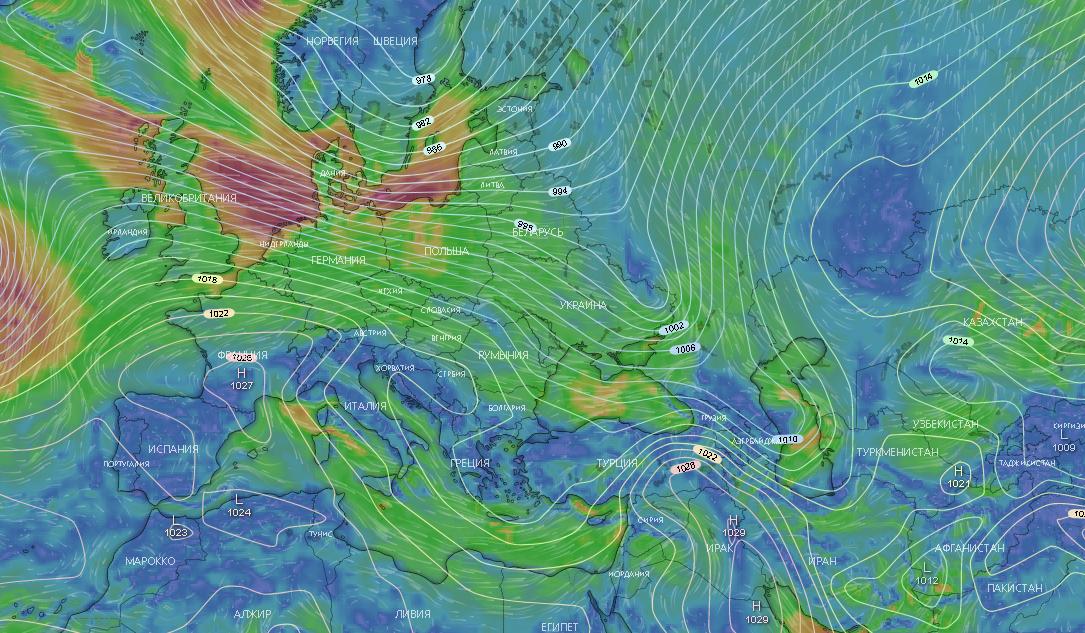 Погода в Одессе сегодня, на 12 февраля.