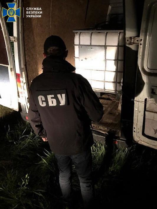 В Одесской области СБУ блокировала масштабную контрабанду спирта из Приднестровья, фото-1