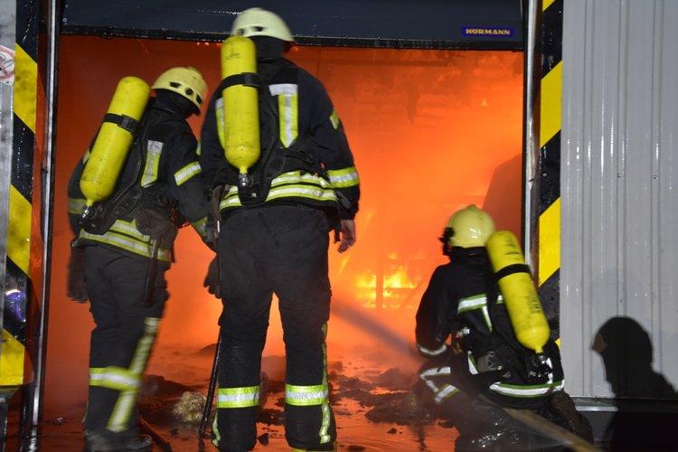 Пожарные полночи тушили масштабный пожар под Одессой, - ФОТО1