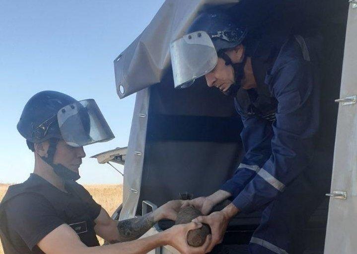 Под Одессой спасатели обезвредили 169 взрывоопасных предметов, - ФОТО 1
