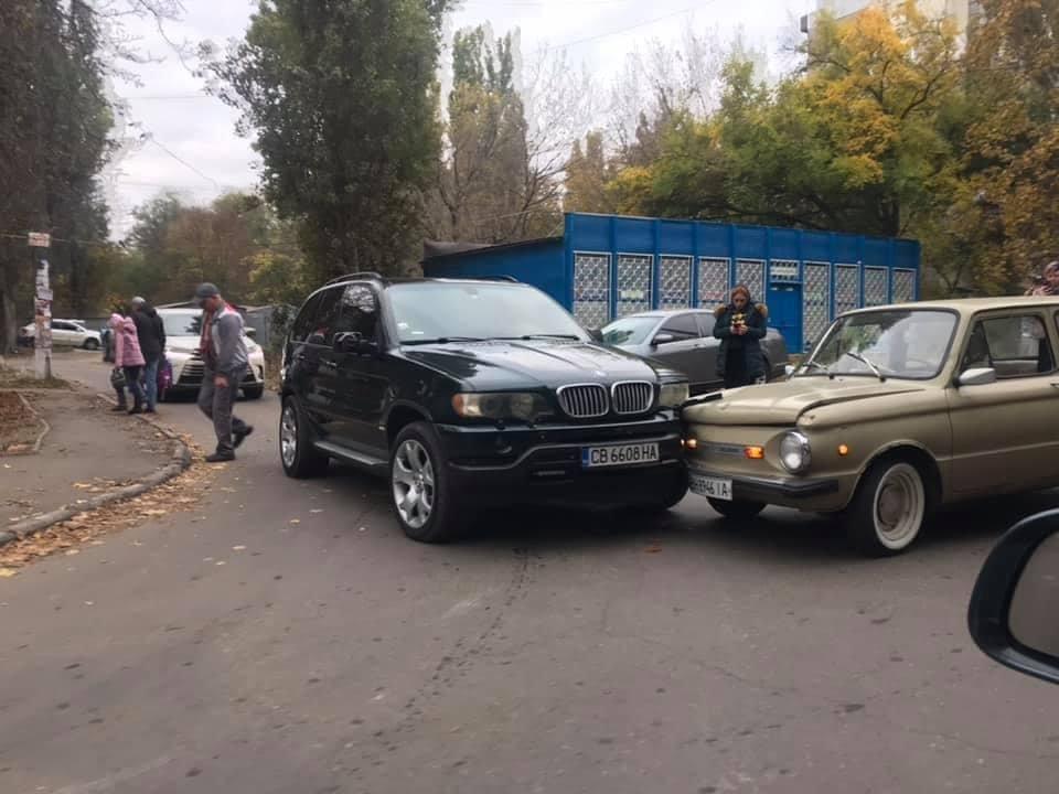 В Одессе произошло курьезное ДТП из анекдота 90-х, - ФОТО1