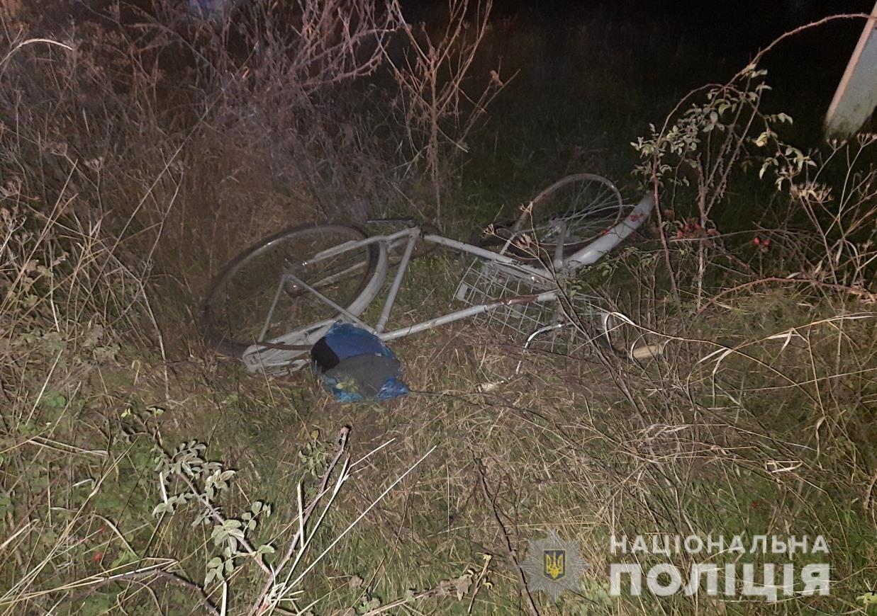 В Одесской области в ДТП погиб велосипедист, - ФОТО1