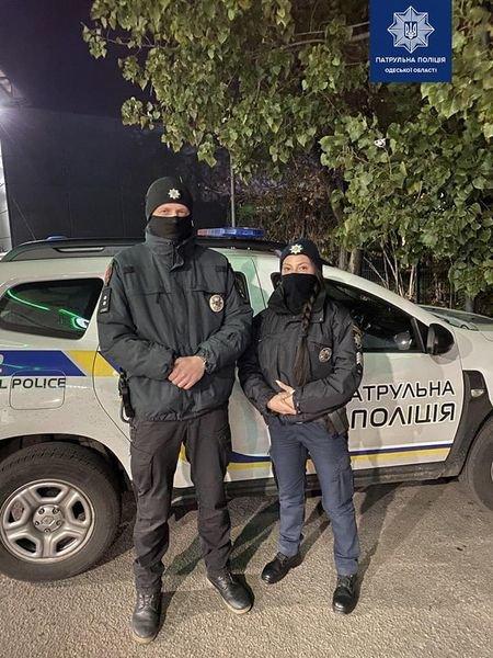 В Одессе патрульные спасли водителя, - ФОТО, фото-1