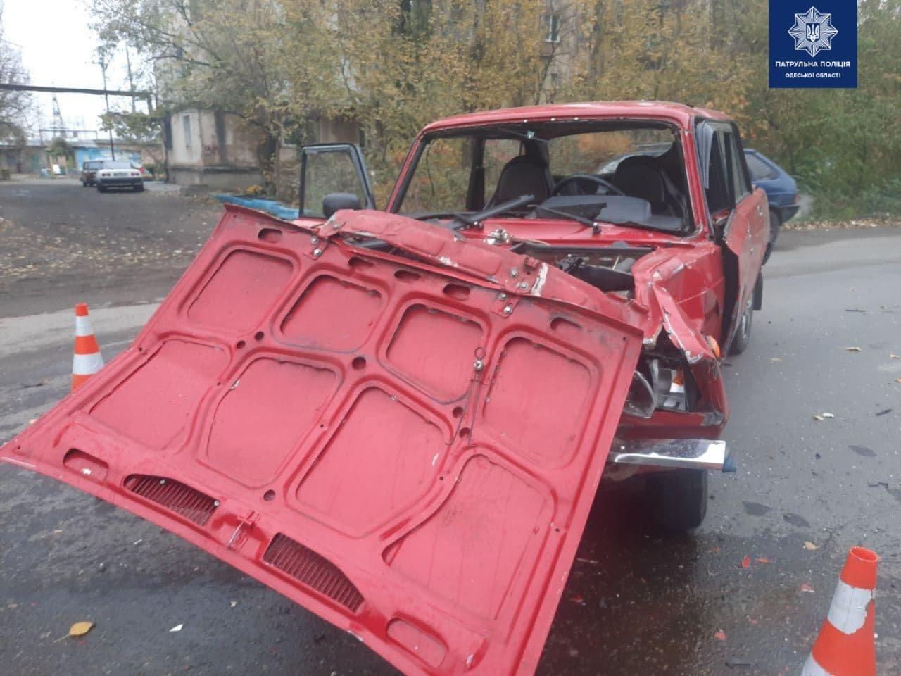 В Одессе в ДТП с тремя автомобилями пострадал мужчина, - ФОТО, фото-1