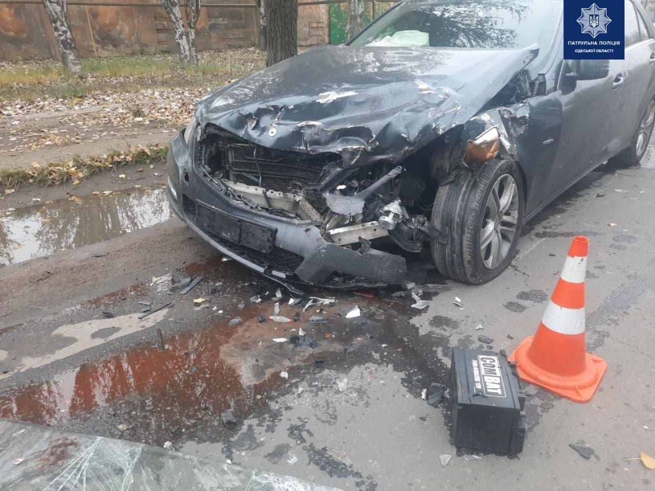 В Одессе в ДТП с тремя автомобилями пострадал мужчина, - ФОТО, фото-2