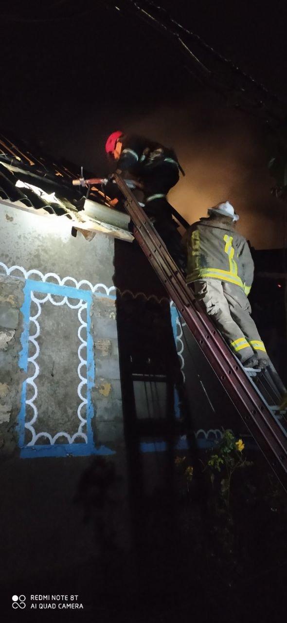 Огонь унес жизнь 42-летней женщины из Одесской области, - ФОТО, фото-1