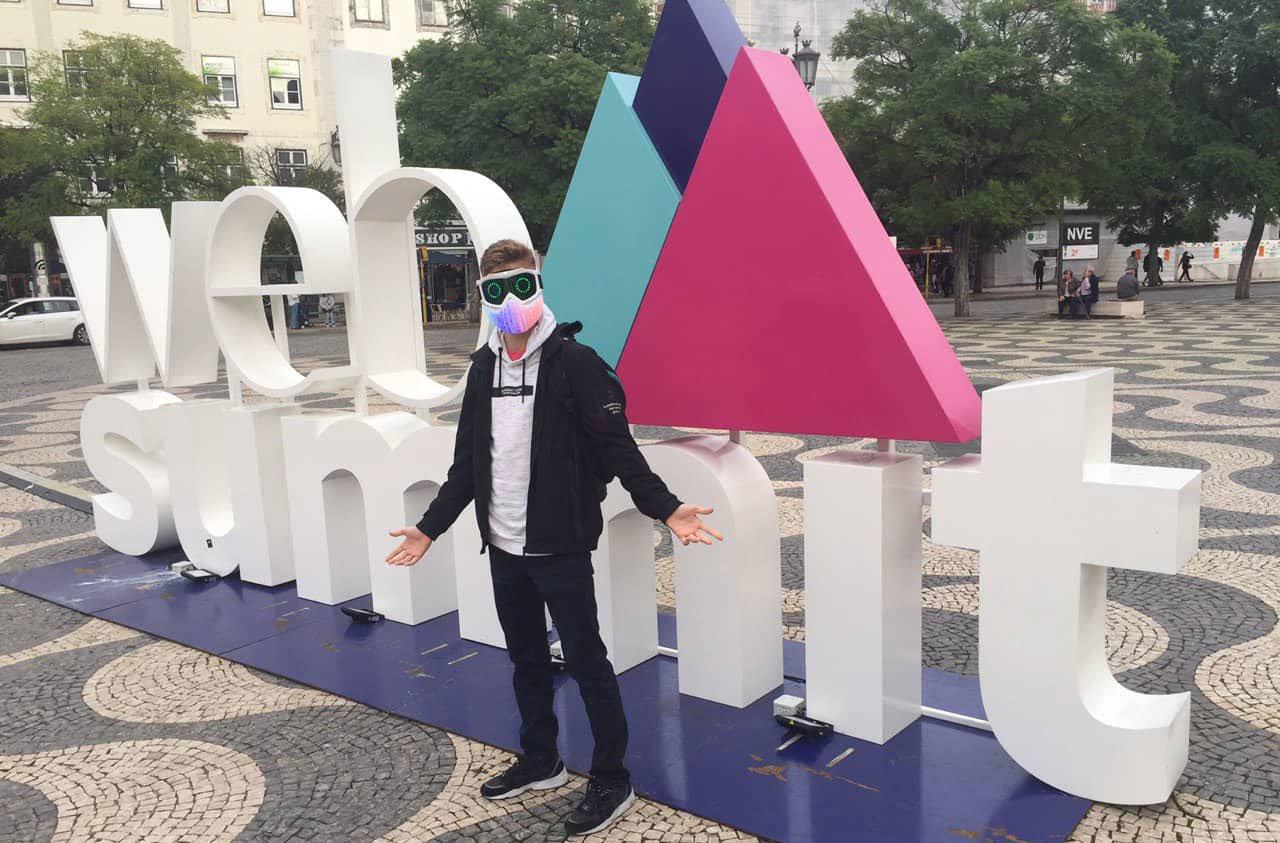 Школьник из Одессы создал умную светодиодную маску и уже начал ее продавать,- ФОТО, фото-5