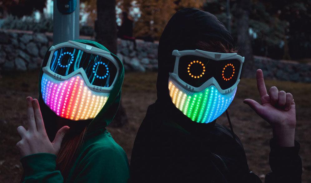 Школьник из Одессы создал умную светодиодную маску и уже начал ее продавать,- ФОТО, фото-6