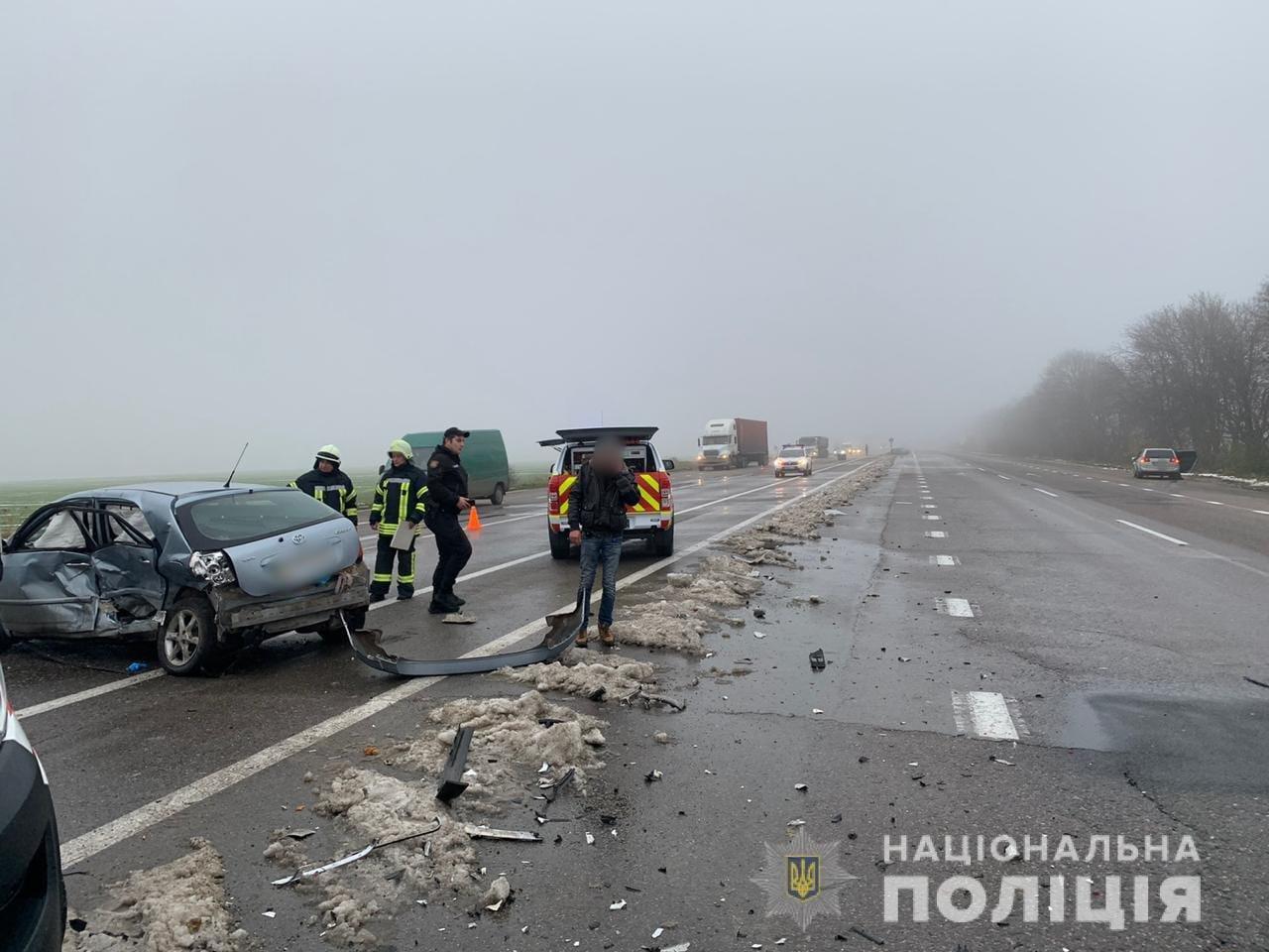 ДТП на трассе Одесса-Киев: водитель и пассажирка погибли на месте, - ФОТО, фото-1