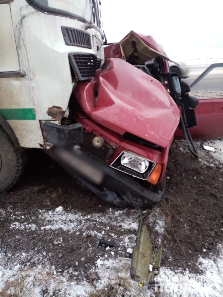Скользкая дорога стала причиной смертельного ДТП под Одессой, - ФОТО, фото-2