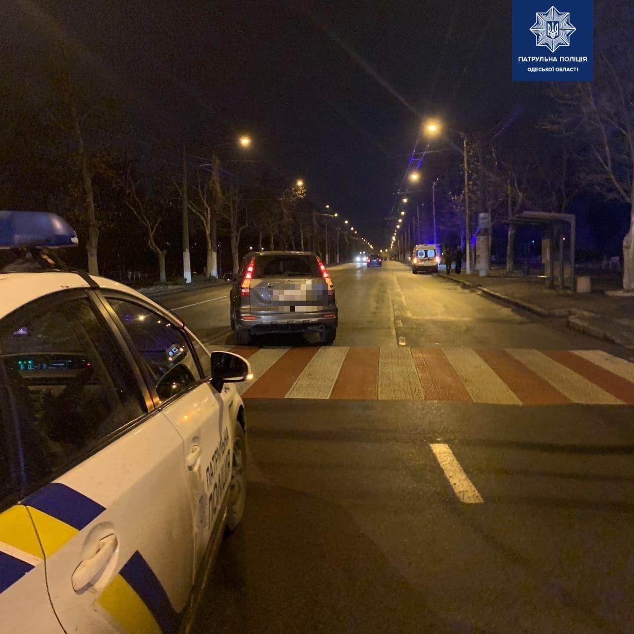 На проспекте Шевченко в Одессе автомобиль сбил женщину, - ФОТО, фото-1