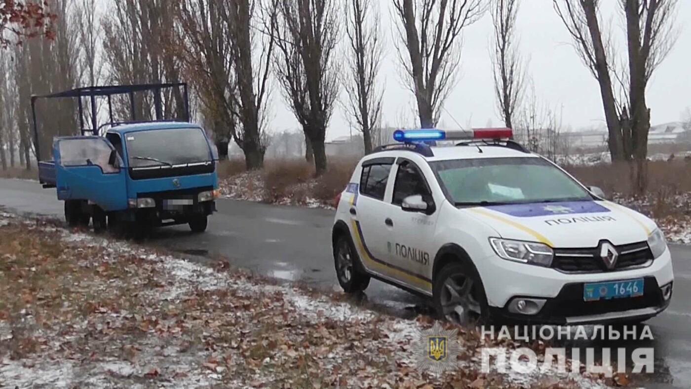 В Одесской области полицейским пришлось стрелять по колесам автомобиля на почте, - ФОТО, фото-2