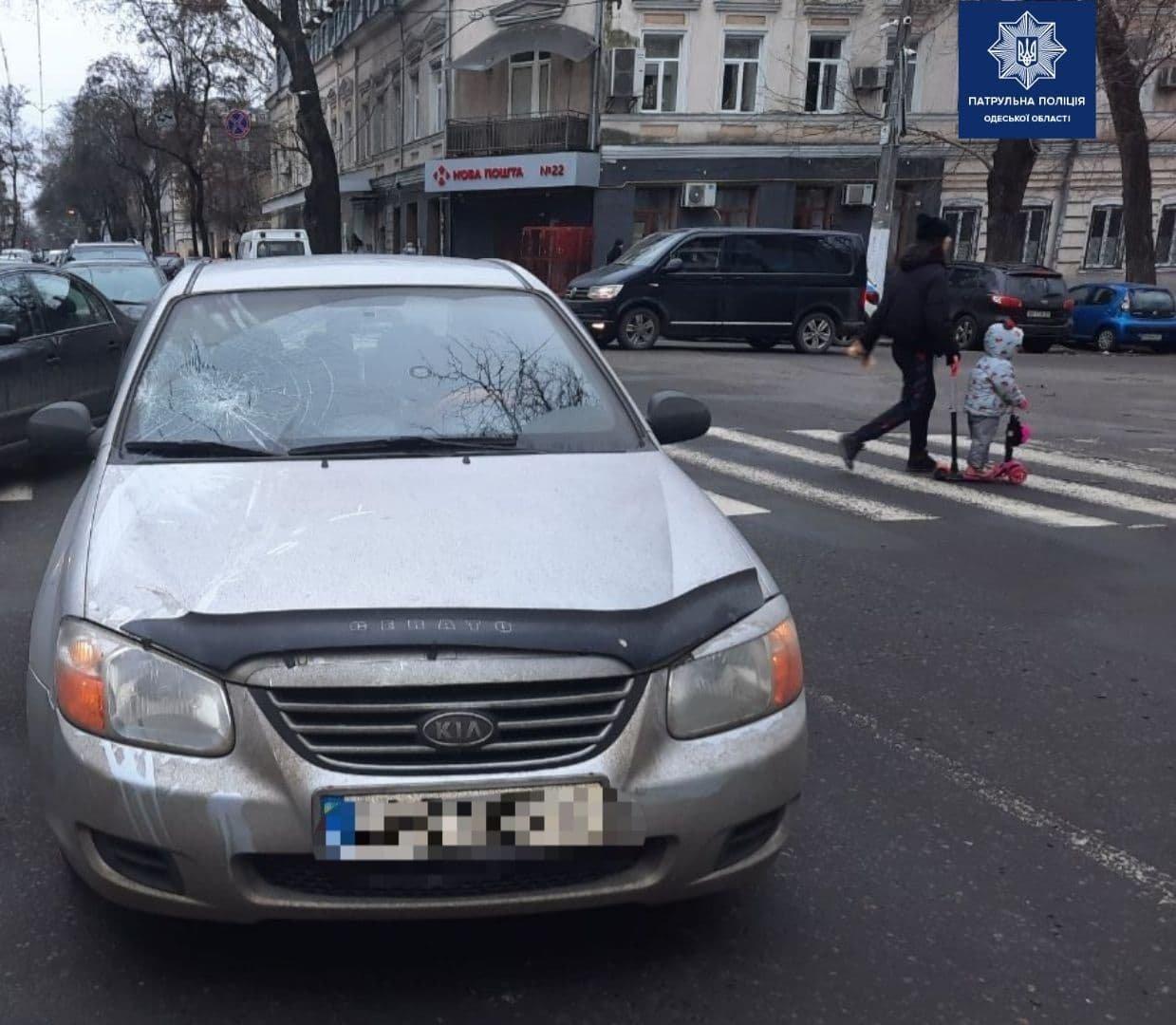Одессит сбил пожилого мужчину на пешеходном переходе, - ФОТО, ВИДЕО, фото-1