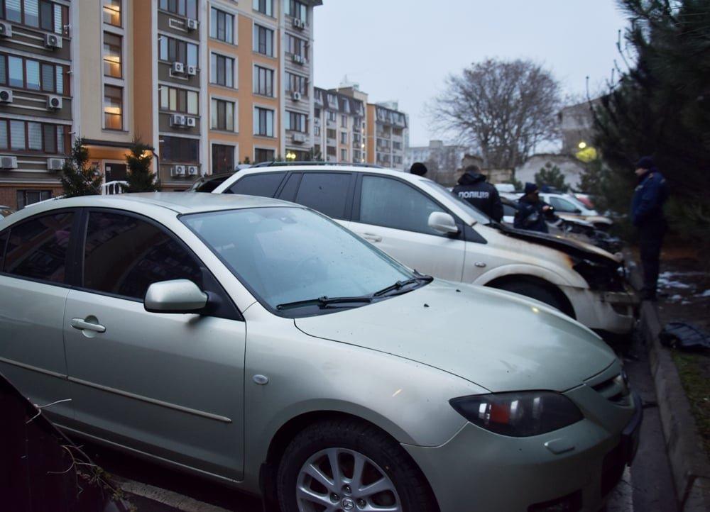 В Одессе в Приморском районе горели автомобили, - ФОТО, фото-2