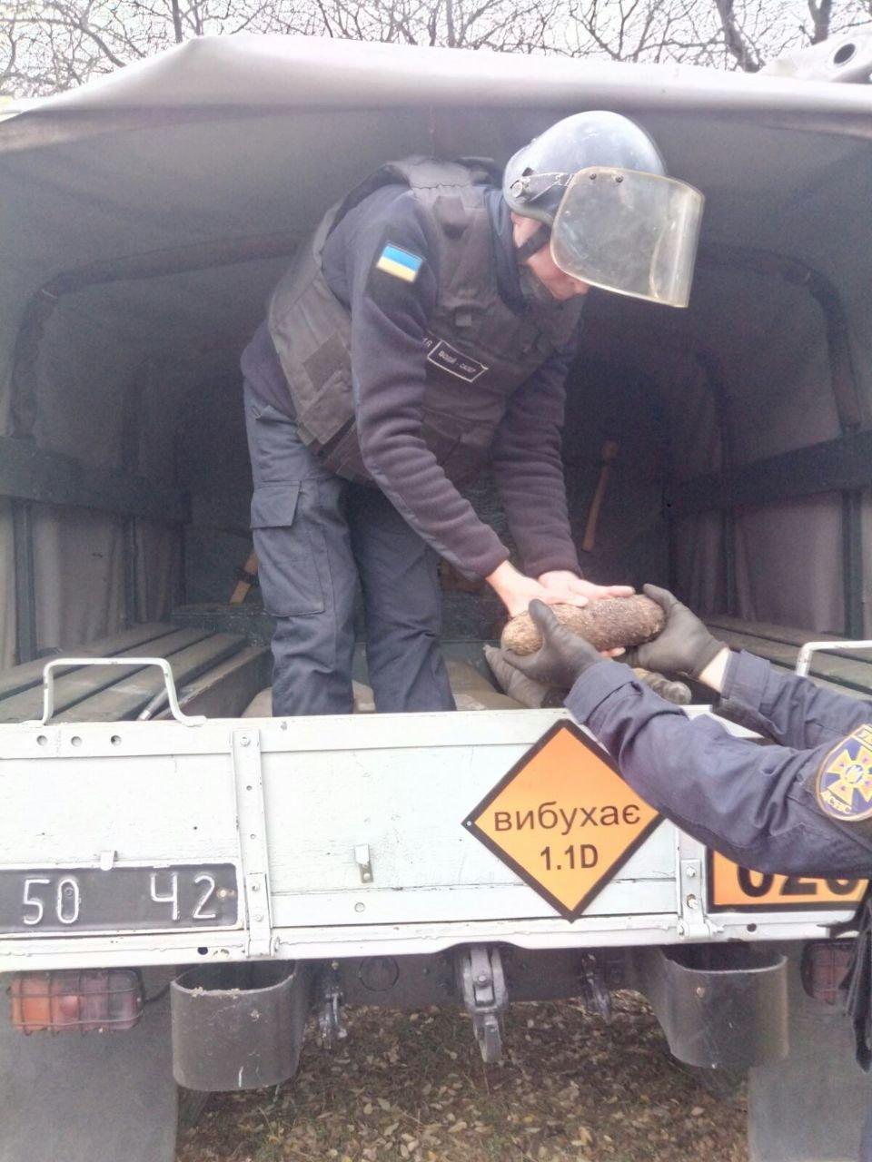 В Одессе в Дюковском саду нашли артснаряд, - ФОТО, фото-1