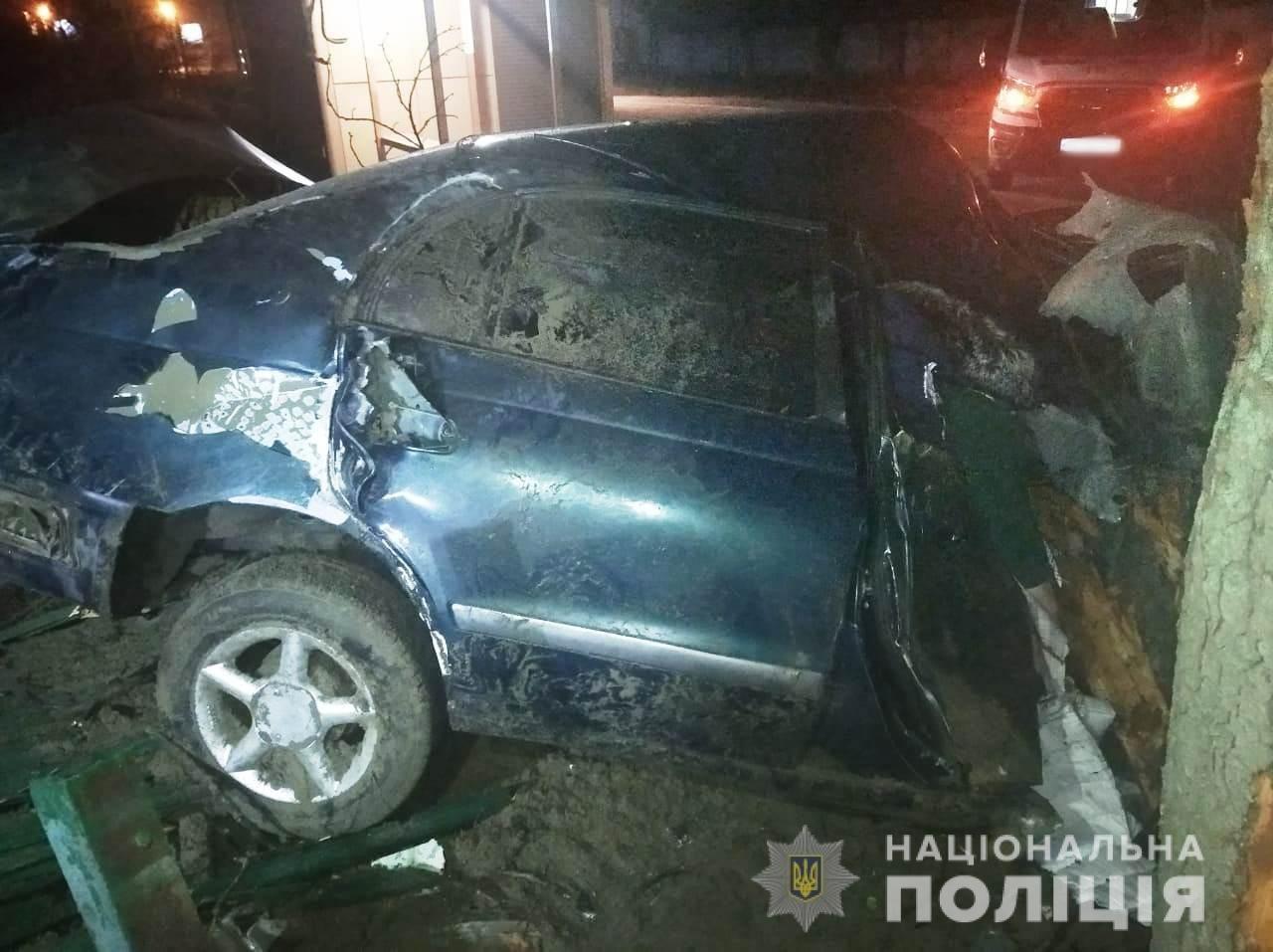 Въехал в дерево: В Одесской области произошло смертельное ДТП, - ФОТО, фото-1