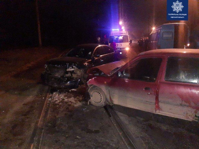 В Одессе на железнодорожном переезде произошло ДТП, - ФОТО, фото-1