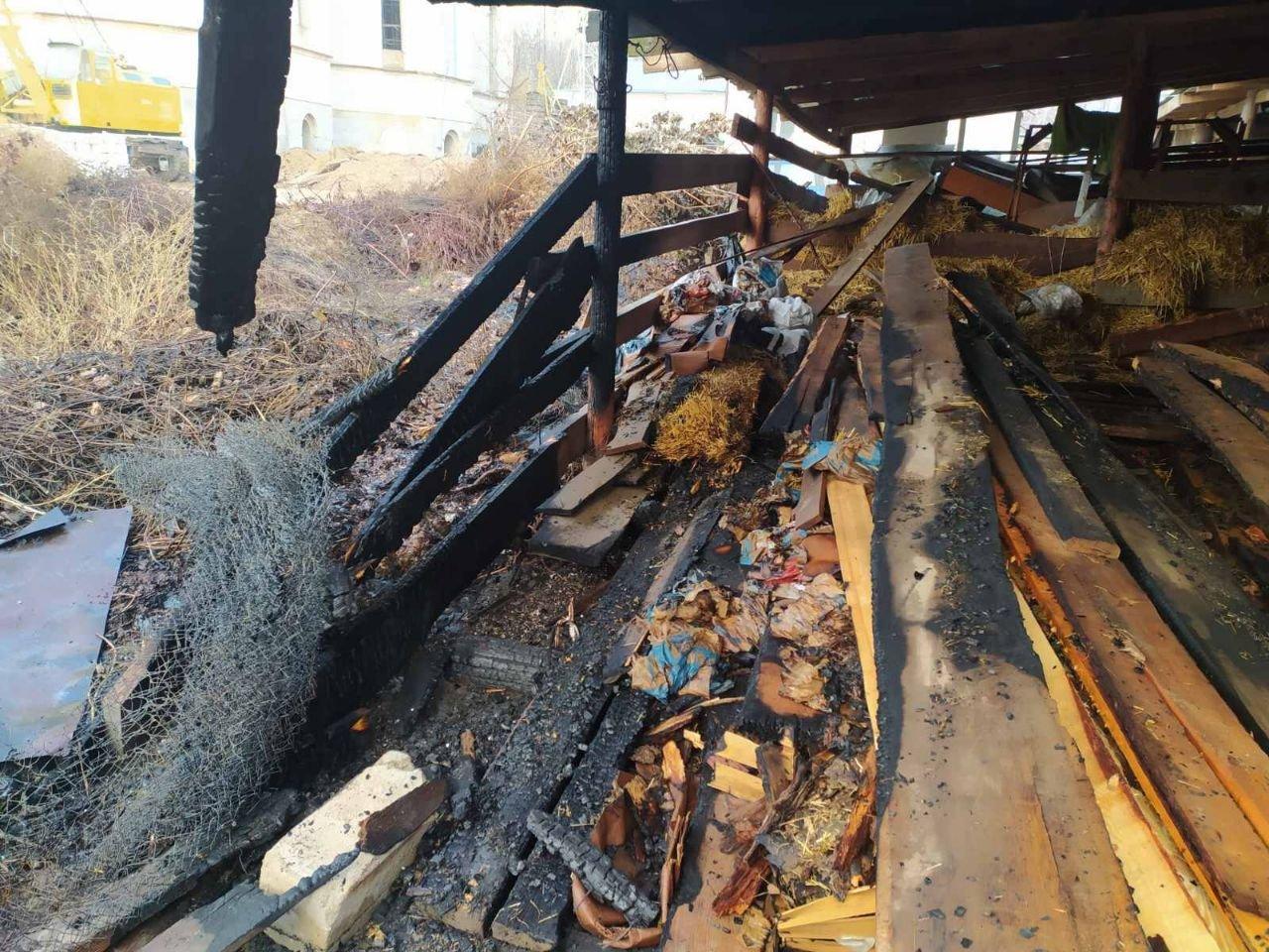 В Одессе произошел пожар на территории православного храма,- ФОТО, фото-1