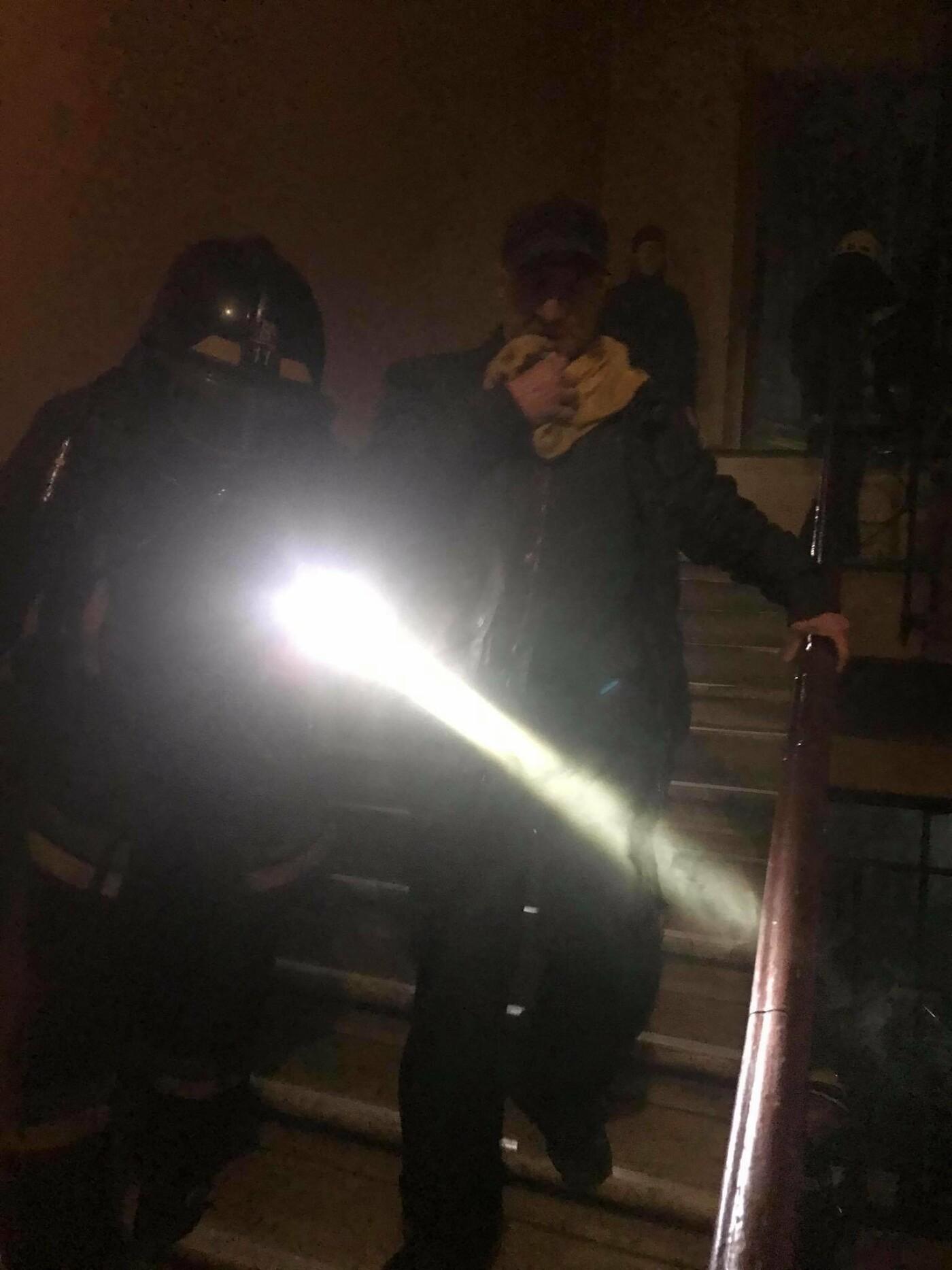 В Одессе при пожаре в центре пострадала 87-летняя женщина, - ФОТО, фото-2