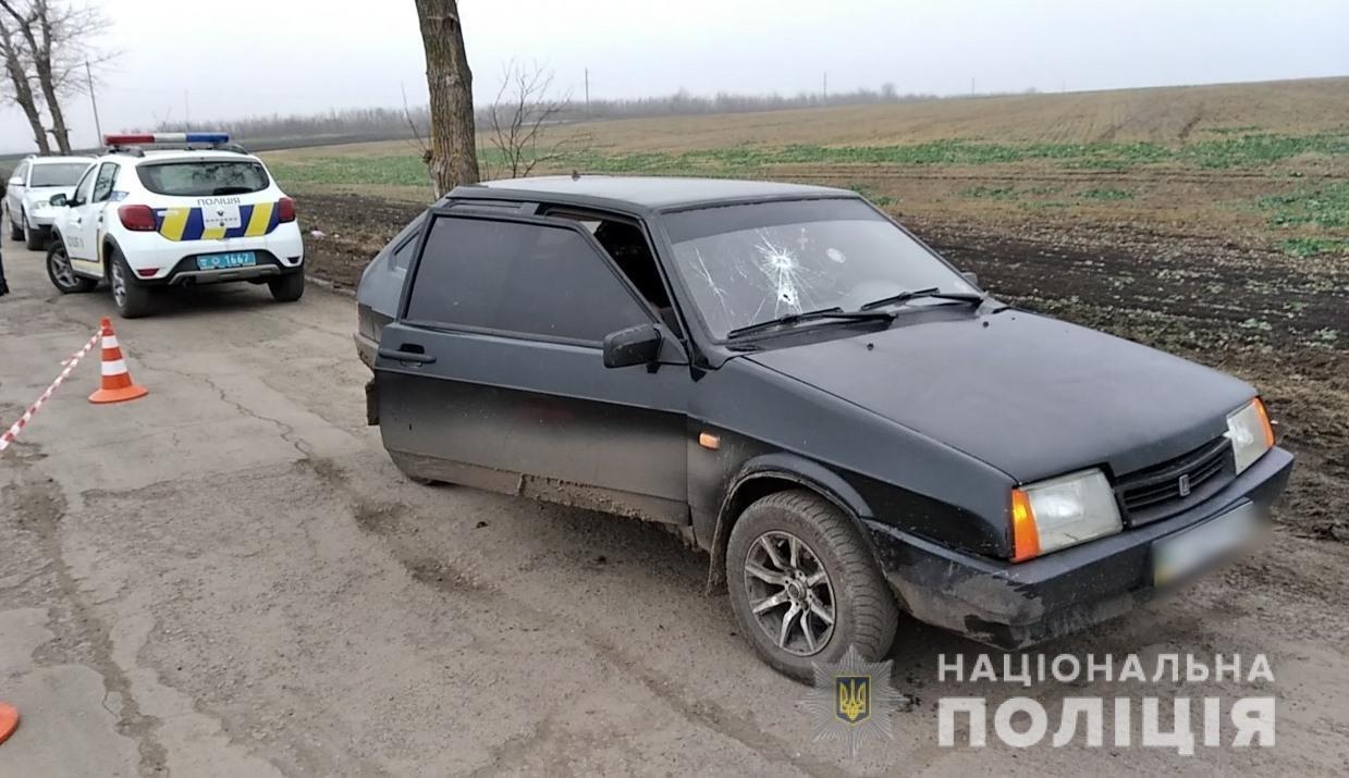 Стреляли в машину: в Одесской области убили пассажира, - ФОТО, ВИДЕО (ОБНОВЛЕНО) , фото-2