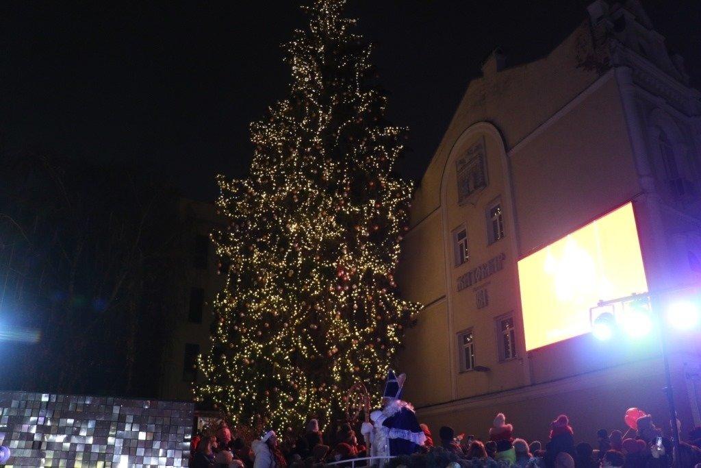Новогодняя елка в Житомире., ФОТО: Travels in ua