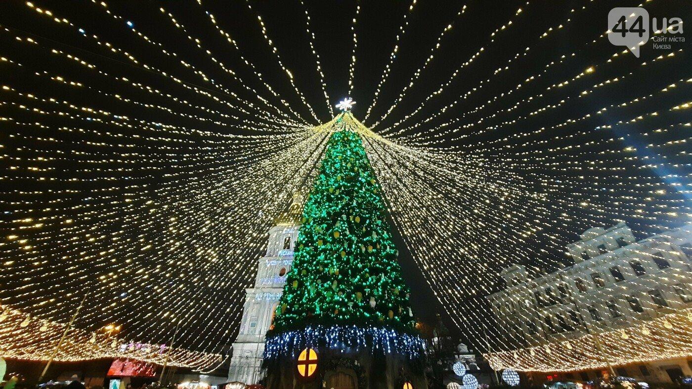 Новогодняя елка в Киеве., ФОТО: сайт 44.ua