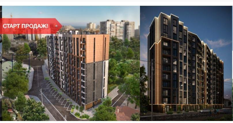 В Одессе в сквере на Фонтане построят новый жилой комплекс, - ФОТО, фото-1
