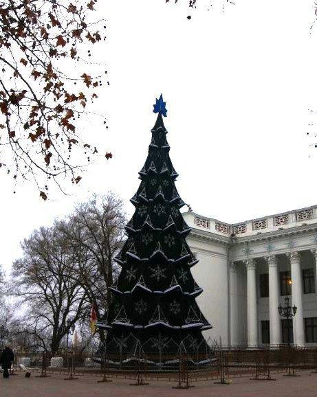 Как менялась главная одесская елка, - ФОТО, фото-3
