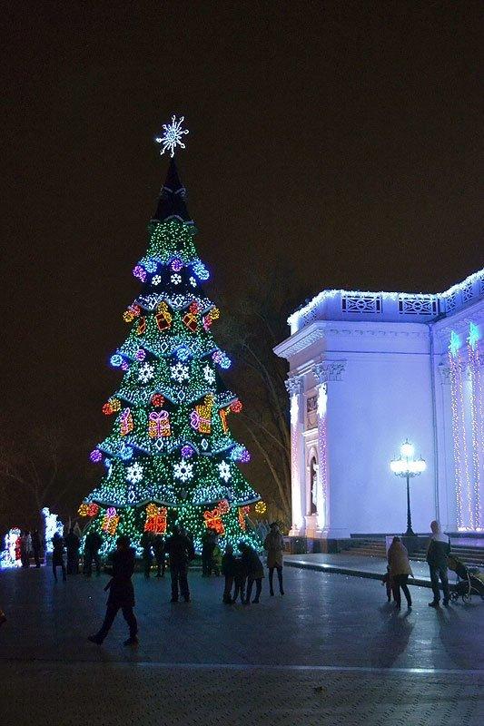 Как менялась главная одесская елка, - ФОТО, фото-4
