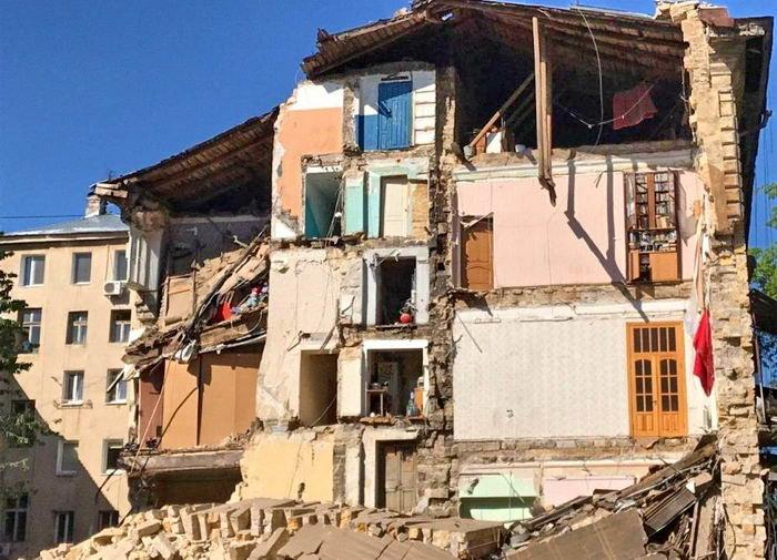Истории пяти домов, которые рухнули в Одессе в 2020 году, - ФОТО , фото-1