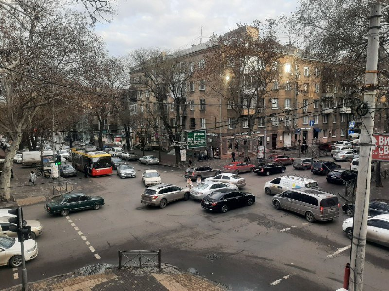 В центре Одессы автоледи устроили ДТП, - ФОТО