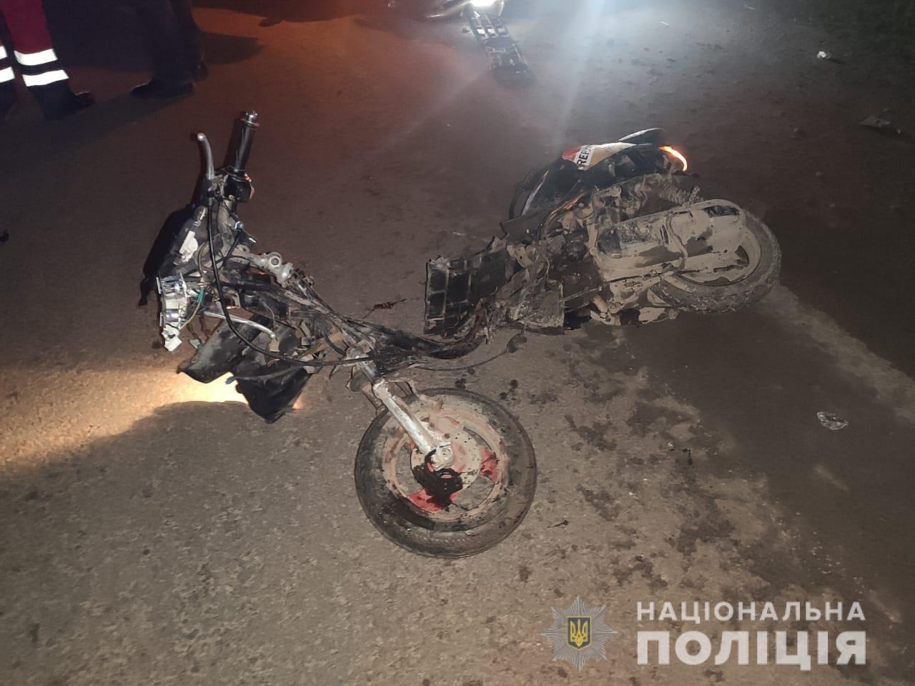 В ДТП на трассе Одесса-Рени погиб 28-летний мопедист, - ФОТО, фото-1