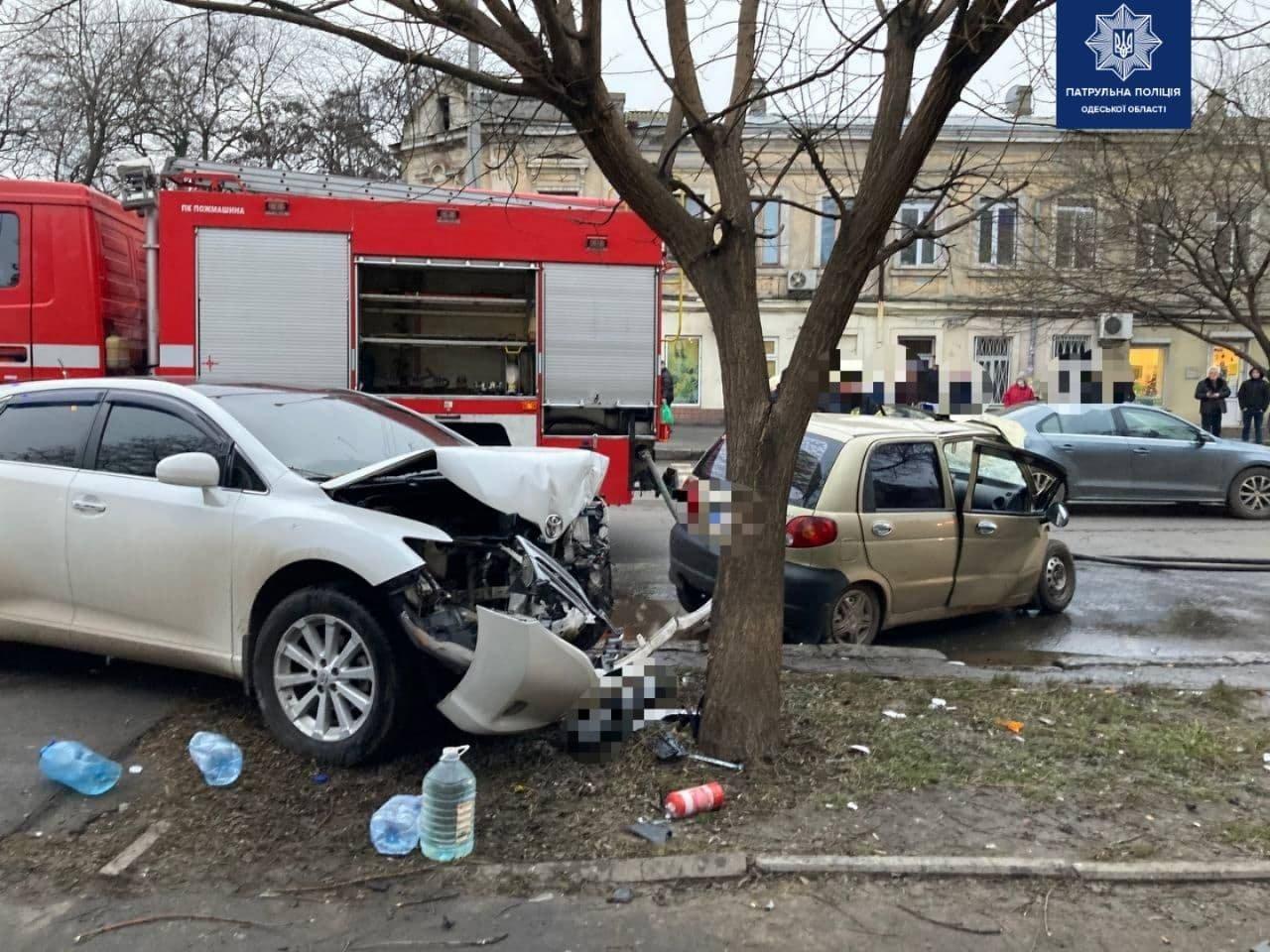 Серьёзное ДТП в Одессе: пострадал ребёнок и один из водителей, - ФОТО, фото-1