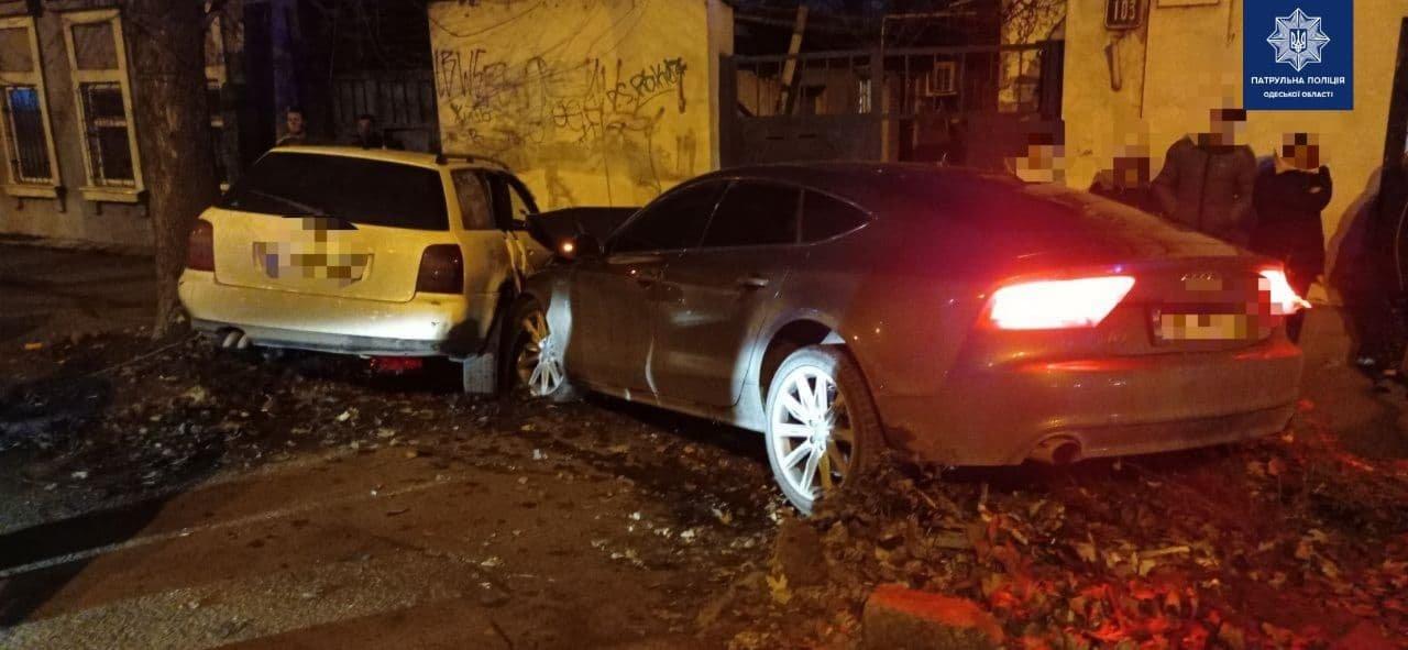 ДТП с участием пяти иномарок в Одессе: пострадала женщина,..., фото-11