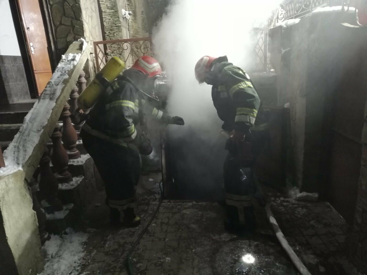 Спасатели Одесской области более часа тушили подземный пожа..., фото-22