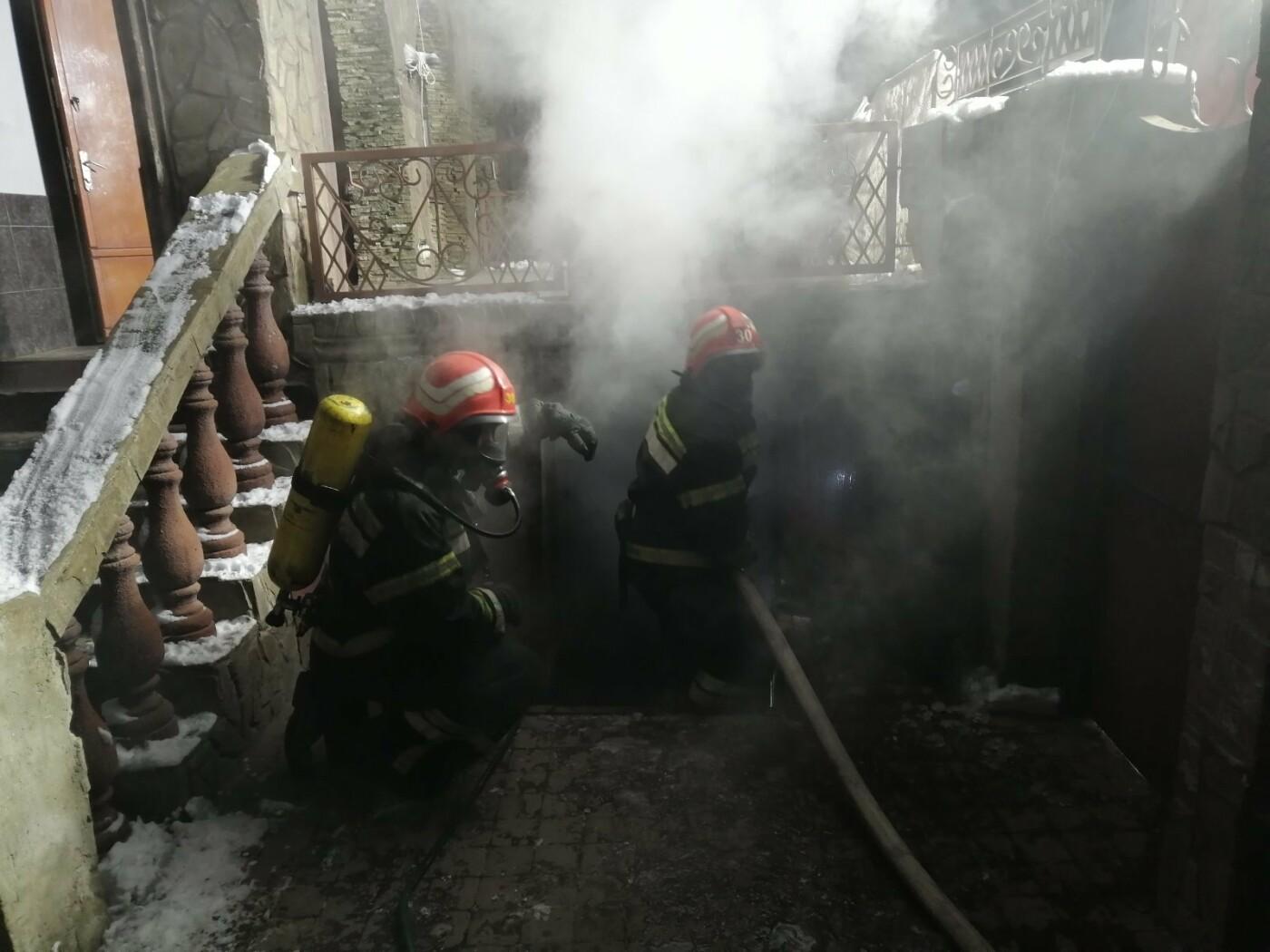 Спасатели Одесской области более часа тушили подземный пожа..., фото-33