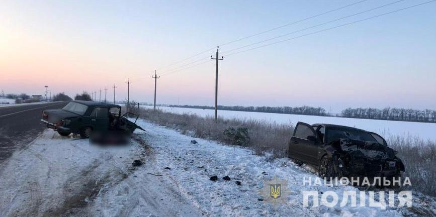 Смертельная авария в Одесской области., ФОТО: Полиция Одесской области