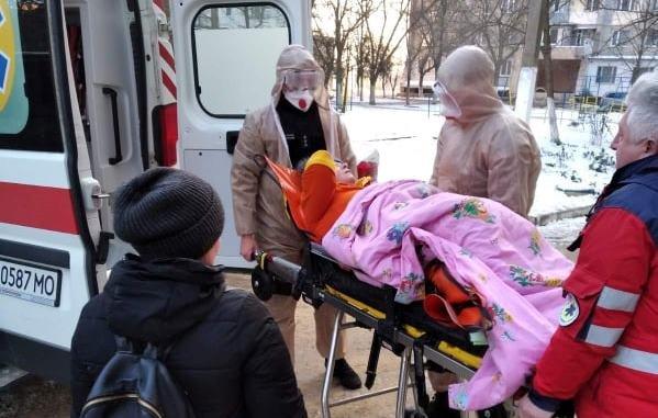 В Одесской области не могли перевезти тучную женщину, - ФОТО, фото-1