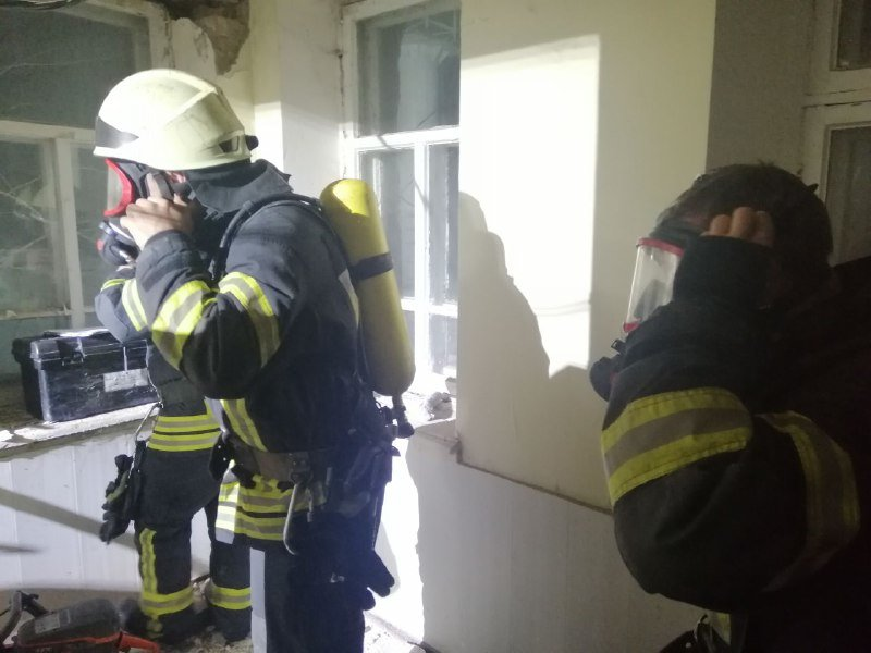 В Одессе горело студенческое общежитие юракадемии, - ФОТО, фото-3