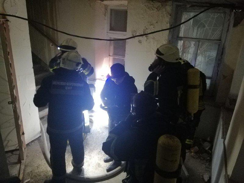 В Одессе горело студенческое общежитие юракадемии, - ФОТО, фото-2