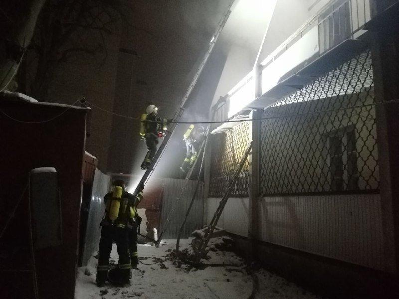 В Одессе горело студенческое общежитие юракадемии, - ФОТО, фото-1