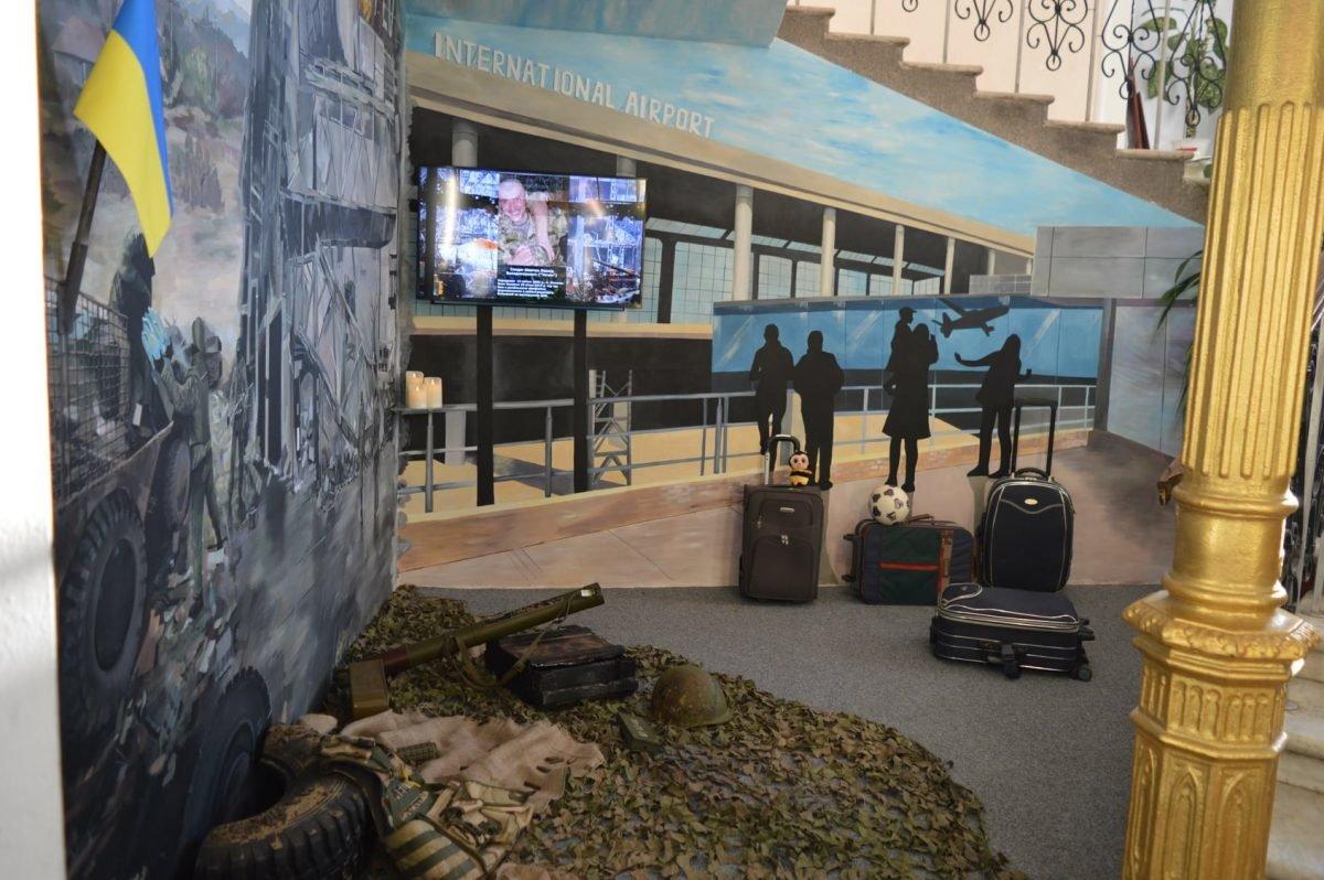 В Одессе открыли диораму героической обороны Донецкого аэропорта, - ФОТО, фото-1