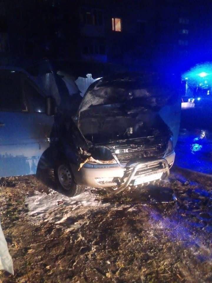 В Одесской области сгорел автомобиль, - ФОТО, фото-22