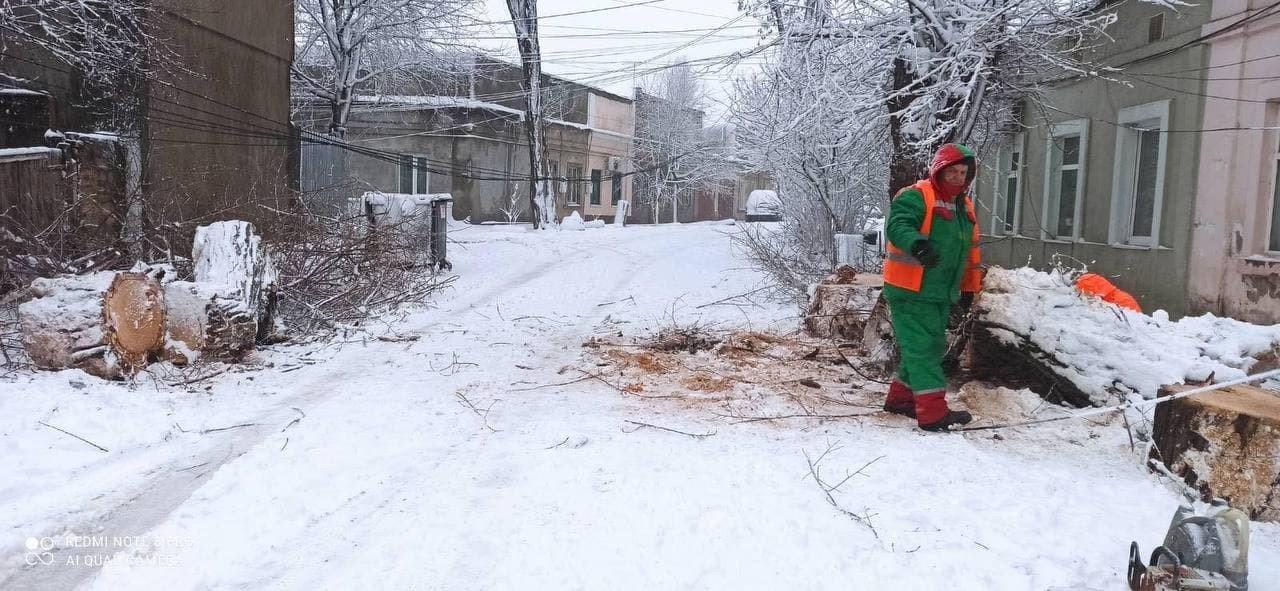 Стихия в Одессе: коммунальщики рассказали о ситуации в городе, - ФОТО, фото-1