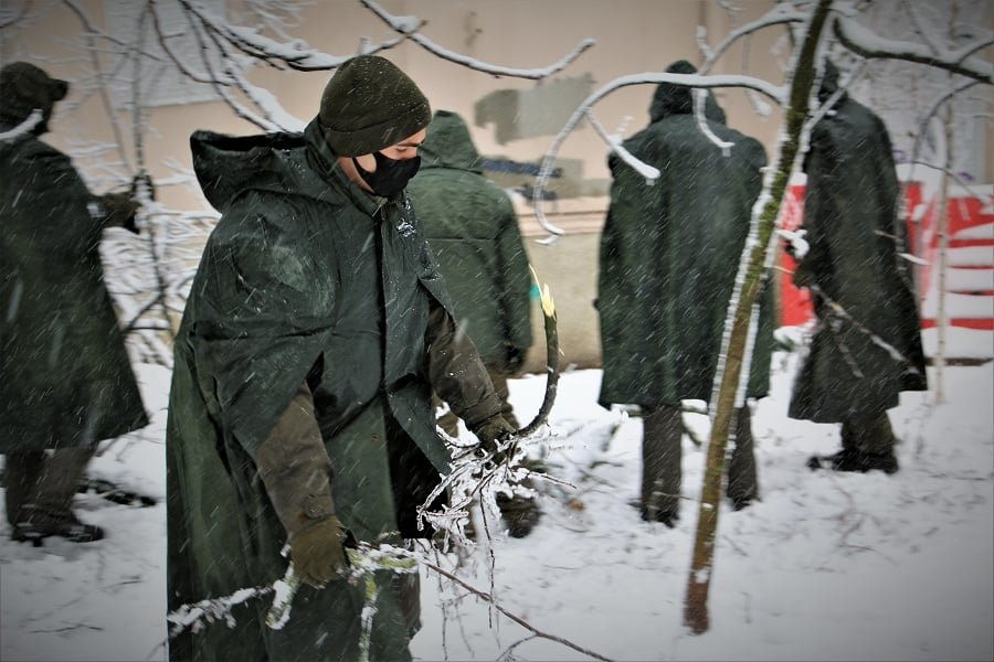 В Одесской области нацгвардейцы помогают справиться со стихией, - ФОТО, фото-2