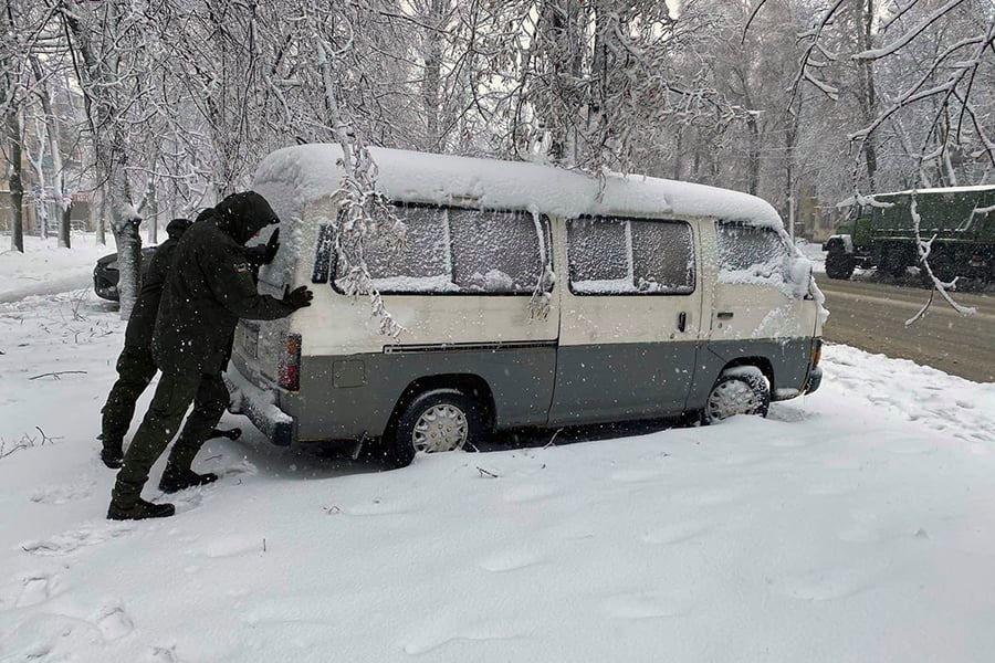 В Одесской области нацгвардейцы помогают справиться со стихией, - ФОТО, фото-8