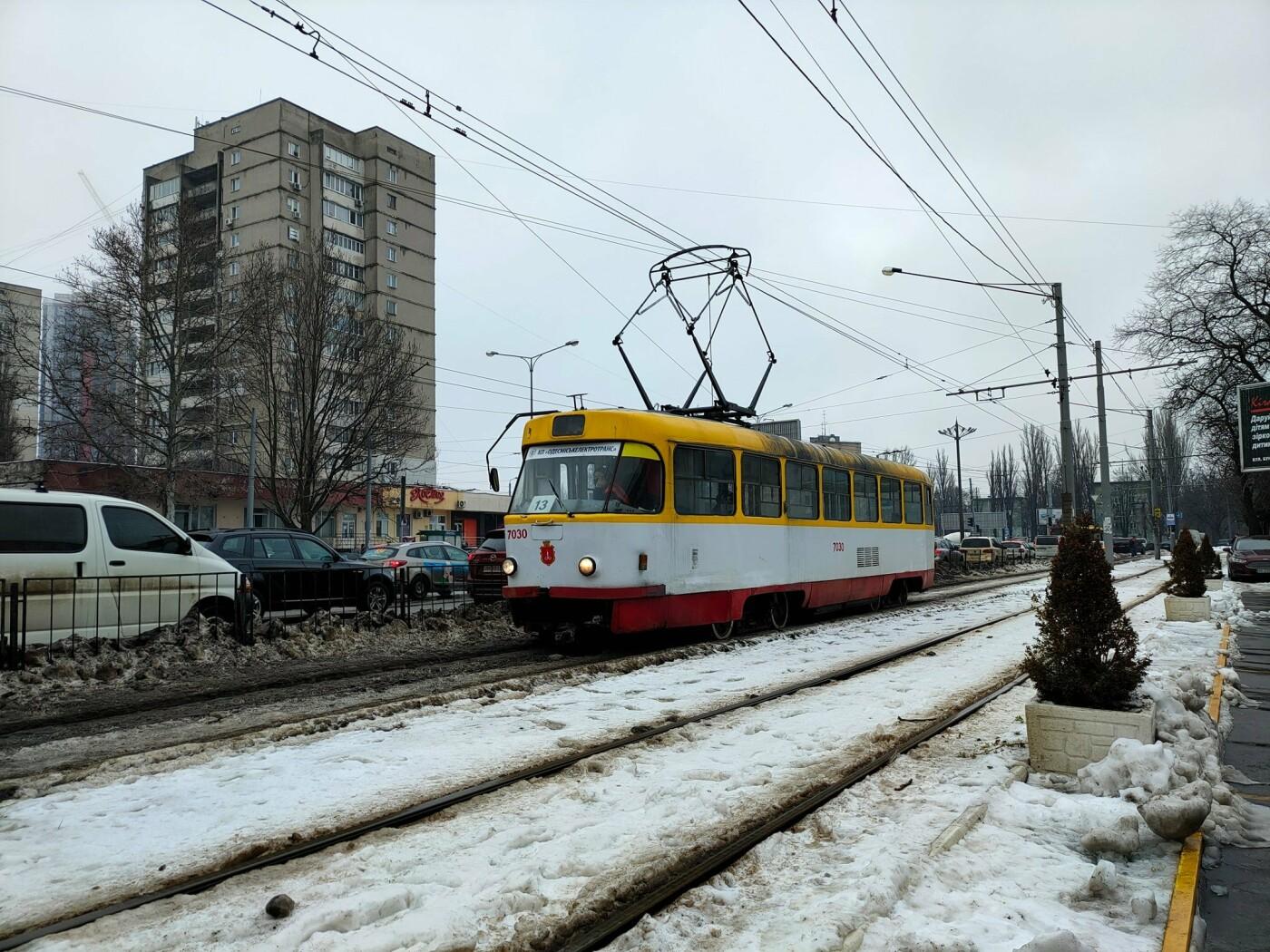 Курьезное ДТП в Одессе: столкнулись трамвай и троллейбус, -..., фото-22