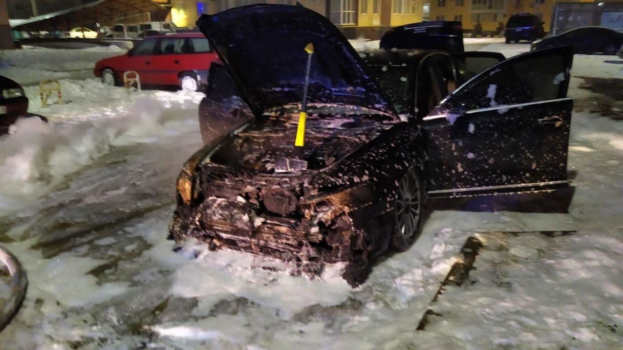 В Одесской области ночью сгорел автомобиль, - ФОТО, фото-22