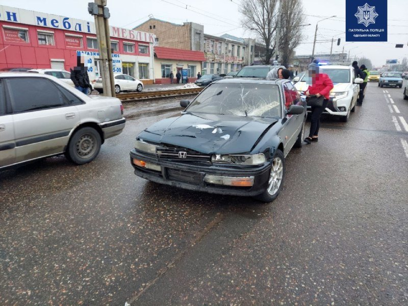 В Одессе в Суворовском районе водитель сбил пешехода, - ФОТО1