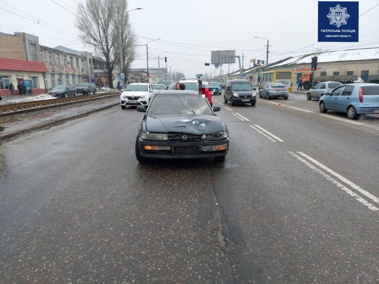 В Одессе в Суворовском районе водитель сбил пешехода, - ФОТО2